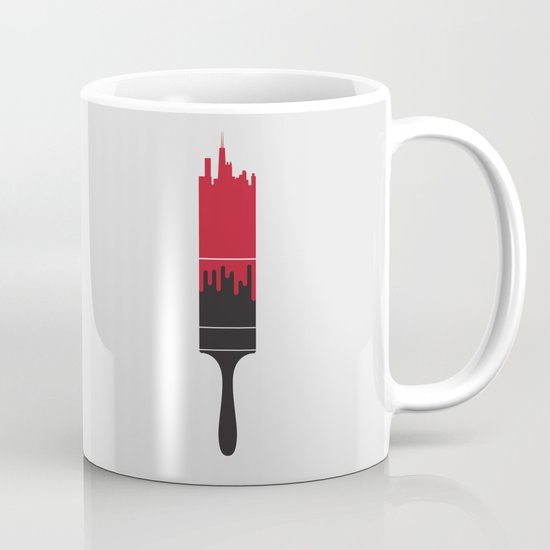 Paint the Town Red Coffee Mug