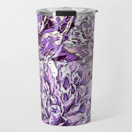 Flowers - blue mood Travel Mug