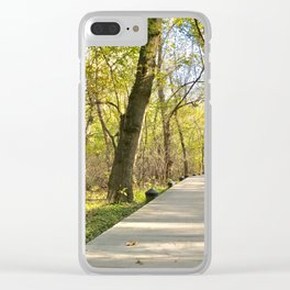 The Natural Path Clear iPhone Case