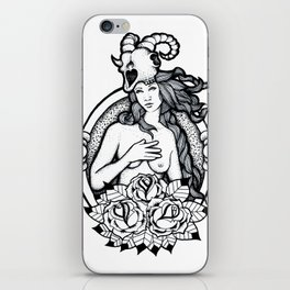 A Passing Glance iPhone Skin
