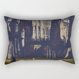 Whitestone Castle Rectangular Pillow