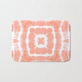FESTIVAL SUMMER - WILD AND FREE - BLOOMING DAHLIA Bath Mat