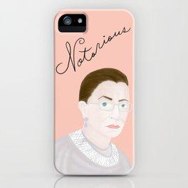 Notorious RBG RuthBaderGinsburg iPhone Case