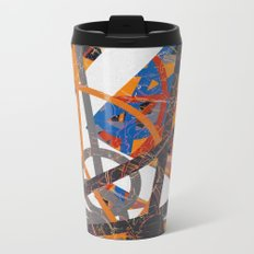 geometric travel Metal Travel Mug