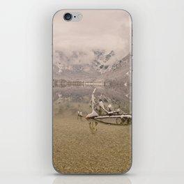 Lake Bohinj Reflection iPhone Skin