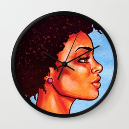 Groovy Fro! Wall Clock