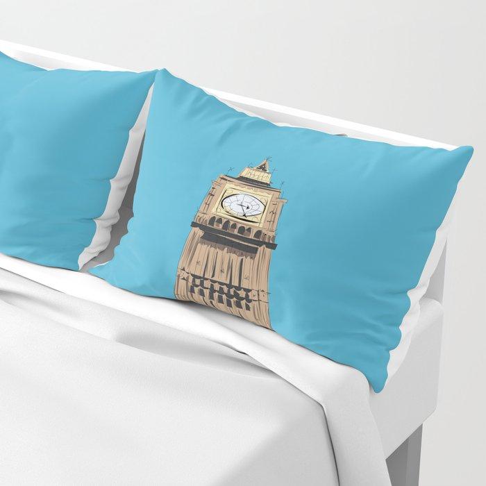 London Big Ben Pillow Sham