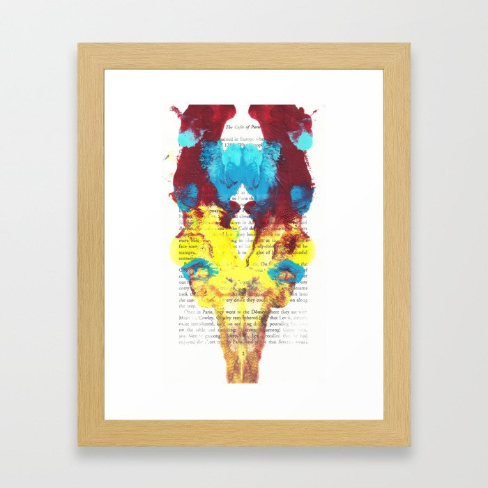 Wilde Creature Framed Art Print