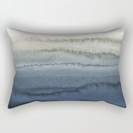 WITHIN THE TIDES - CRUSHING WAVES BLUE Rectangular Pillow