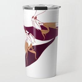 Orchid Mantids Travel Mug