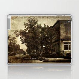 Washington Street Scene Laptop & iPad Skin