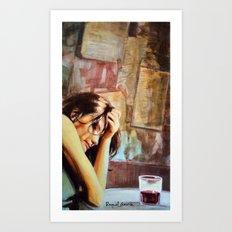 Red Wine/1 Art Print