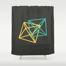 III: Octaedro Shower Curtain