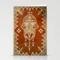 hamsa Stationery Cards featuring Hamsa by Our Folk Life