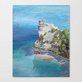 Miners Castle Canvas Print