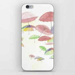 rainbow walk iPhone Skin