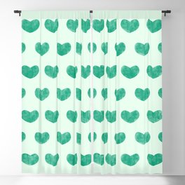 Cute Hearts V Blackout Curtain