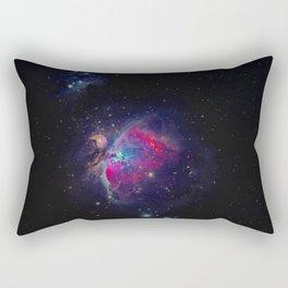Galaxy Shot (Color) Rectangular Pillow