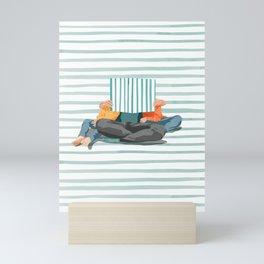 Bedtime Story Mini Art Print