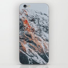 Sunset Mountains | Mountaians on Fire iPhone Skin
