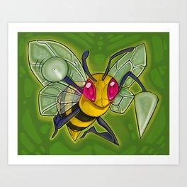 Bzz bzz! Art Print