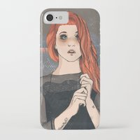 hayley williams iPhone & iPod Cases featuring Hayley by Clementine Petrova