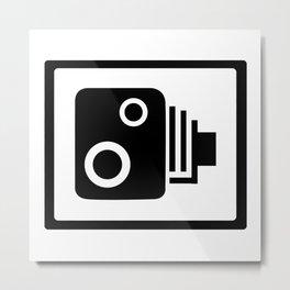 Speed Camera Metal Print