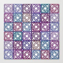 Colorful Maze V Canvas Print