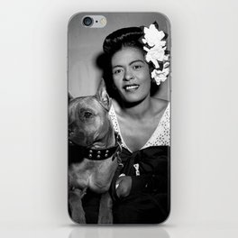 Billie Holiday : Lady Day & Her Mister iPhone Skin