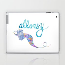 allons-y Laptop & iPad Skin