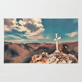 The Hilltop Cross Rug