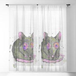 Rat Sheer Curtain