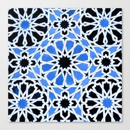 Moroccan Zellige pattern Canvas Print