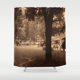 West Baden Shower Curtain