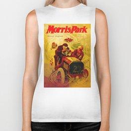 Morris Park Auto Race, vintage poster, race poster Biker Tank