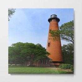 Currituck Beach Light Station Metal Print