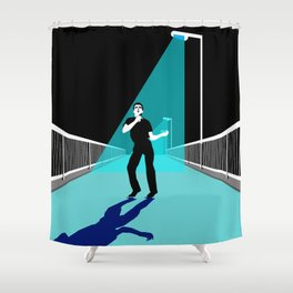 ShadowPlay Epping Walk Bridge Edition Shower Curtain