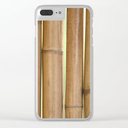 Bamboo 3 Clear iPhone Case