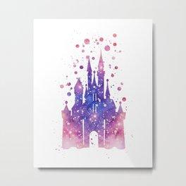 Disneys Cinderella Castle  Metal Print