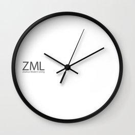 ZML Logo 1 Wall Clock