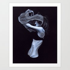 Undress Art Print