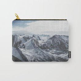 Snowy Mountains of Alberta Carry-All Pouch