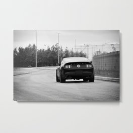 2012 Shelby GT-500 rear taillights Metal Print