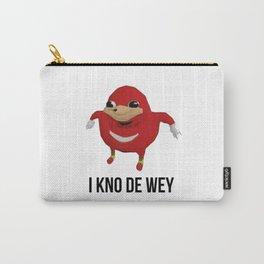 I kno de wey Carry-All Pouch