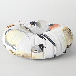 Birdie birdie Floor Pillow