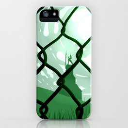 Across. iPhone Case