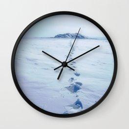 A Long Walk Wall Clock