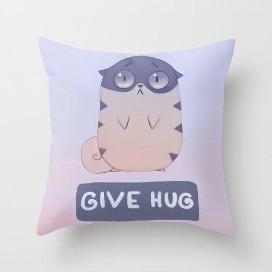 Boggart Hug Throw Pillow