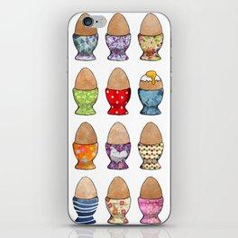 Eggcups iPhone Skin