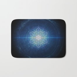 Sacred Geometry Bath Mat